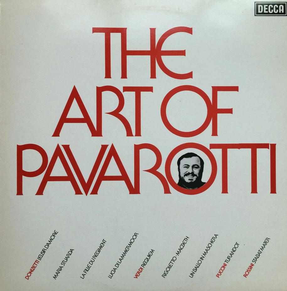 THE ART OF PAVAROTTI