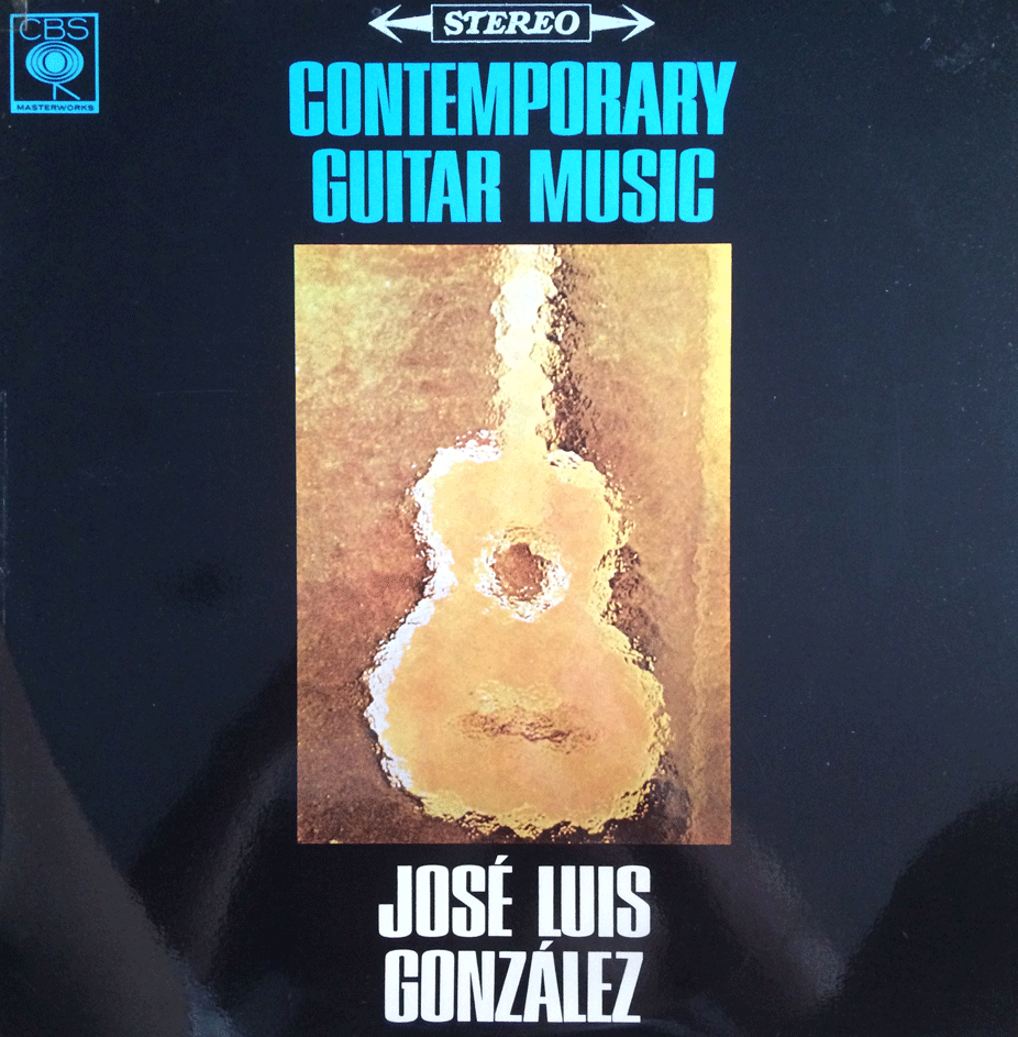 CONTEMPORARY GUITAR MUISC - JOSE LUIS GONZALEZ