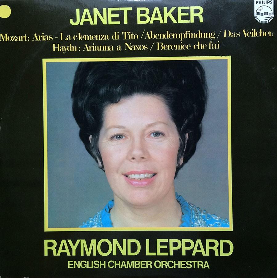 RAYMOND LEPPARD - JANET BAKER