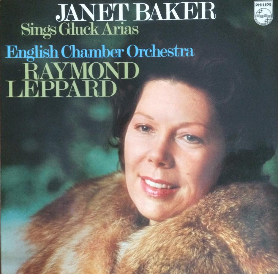 SINGS GLUCK ARIAS - JANET BAKER