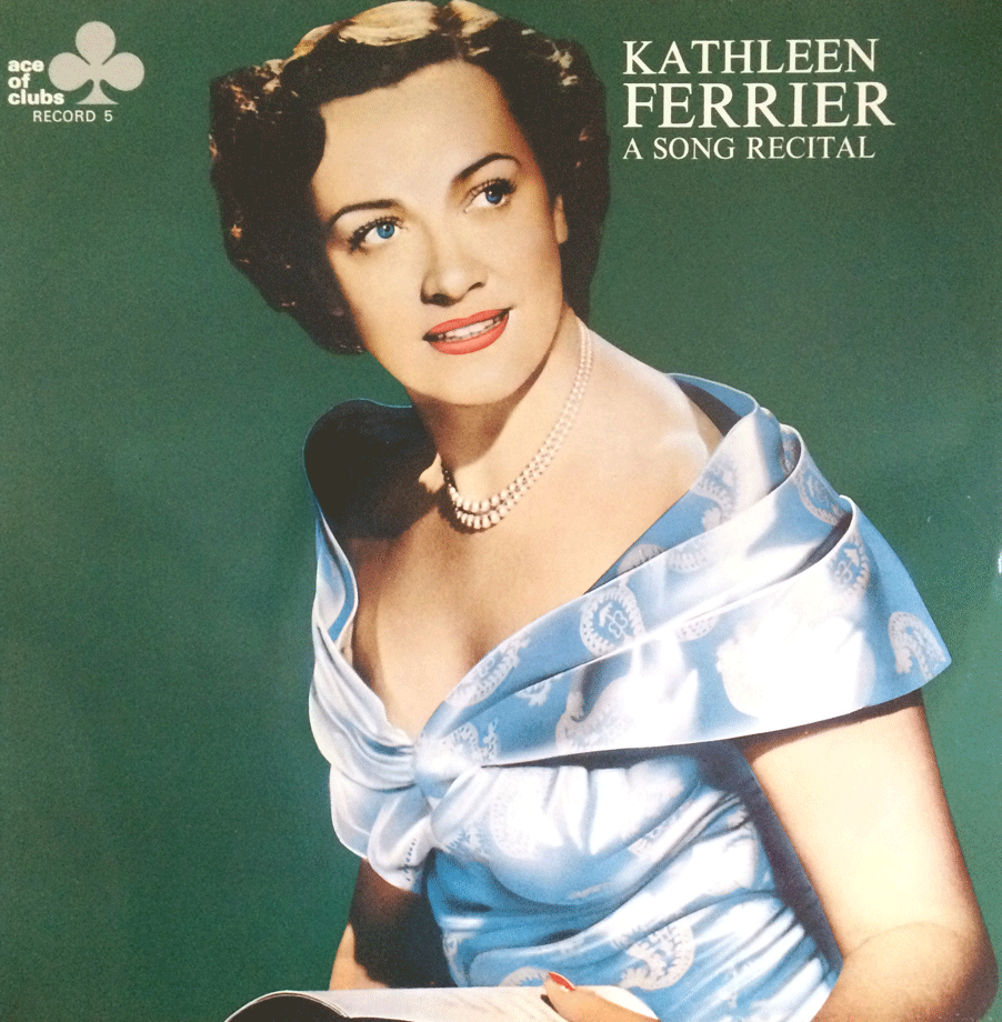 A SONG RECITAL - KATHLEEN FERRIER