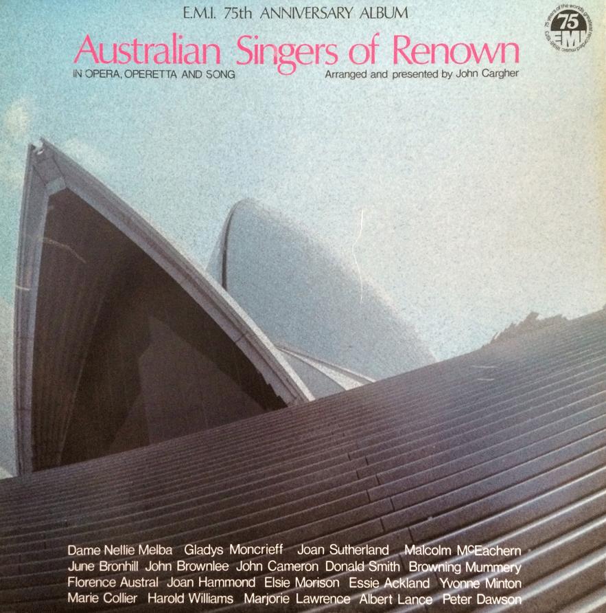 AUSTRALIAN SINGERS OF RENOWN