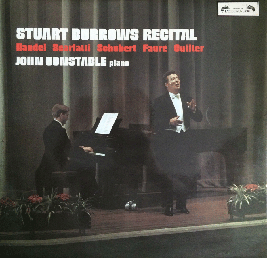 STUART BURROWS RECITAL