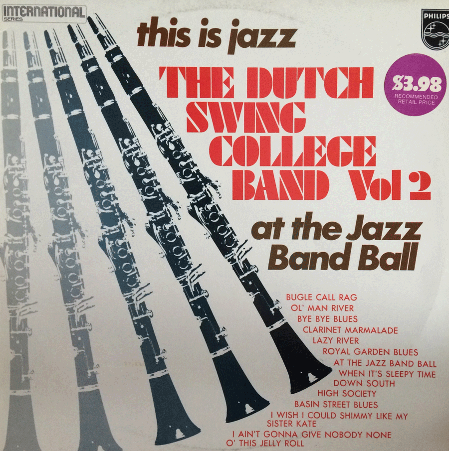 THE DUTCH SWING COLLEGE BAND VOL2 - BAND BALL