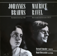 JOHANNES BRAHMS / MAURICE RAVEL